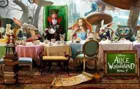 Tea Party Table Alice In Wonderland Characters Alice In