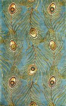 Catalina Blue Pea Feathers Rug 30 X 50 142 00 Www Allthingspea