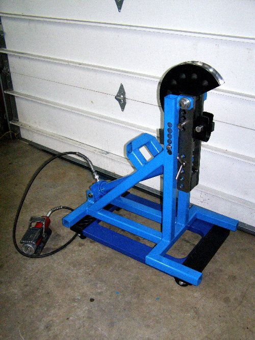 Home built tubing bender - Fabrication / Welding - HybridZ ...