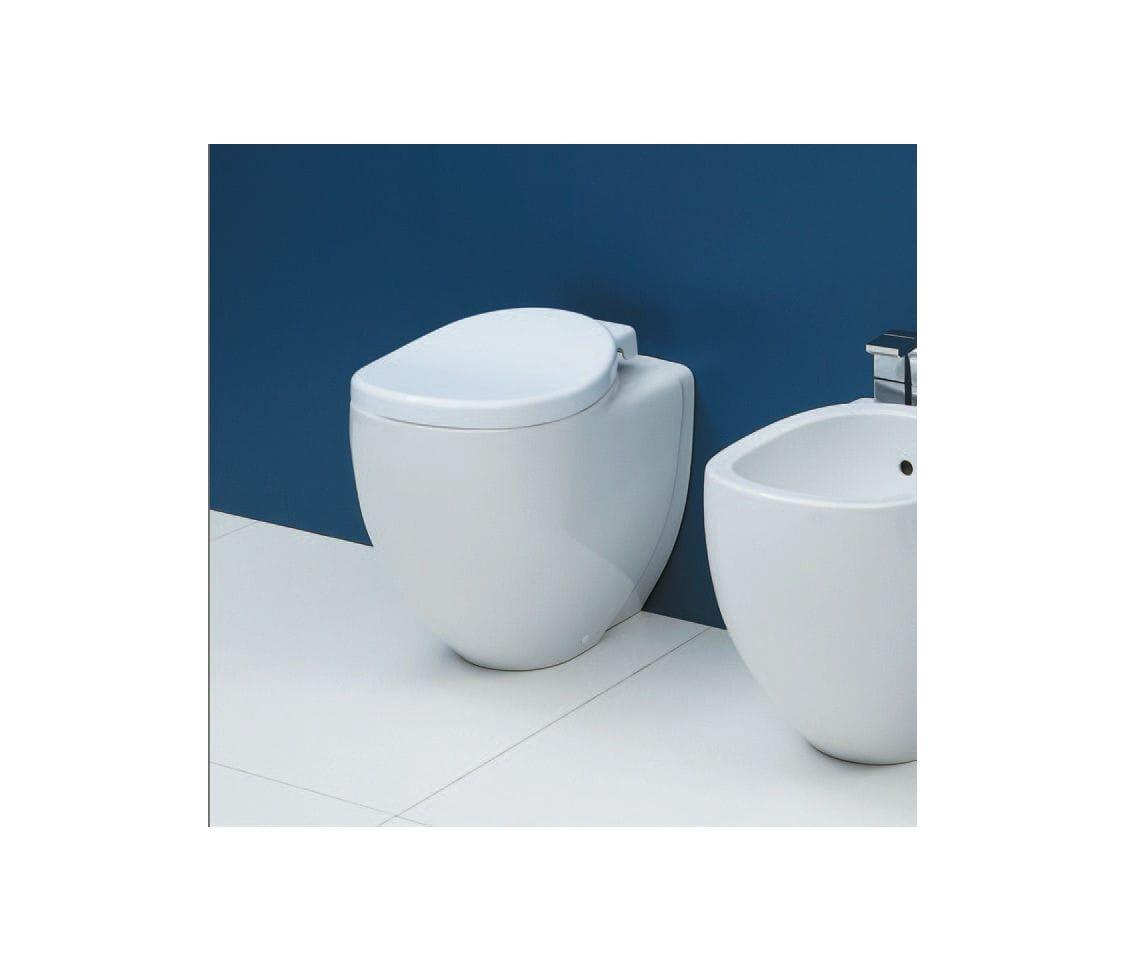 IO117 Flaminia  Flaminia IO Gulvstående toalett 530x340 mm, Hvit