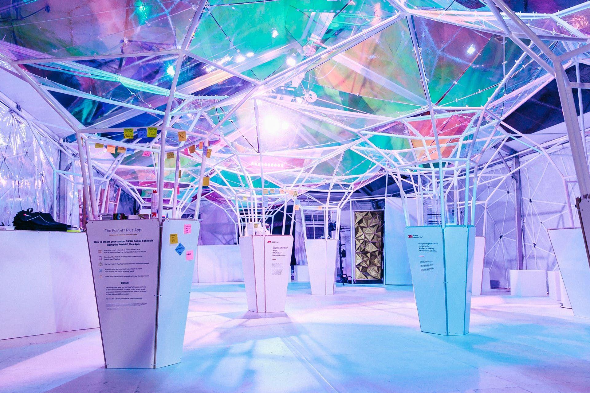 3m Lifelab Sxsw Softlab Archinect Design Milk Exhibition Design Design