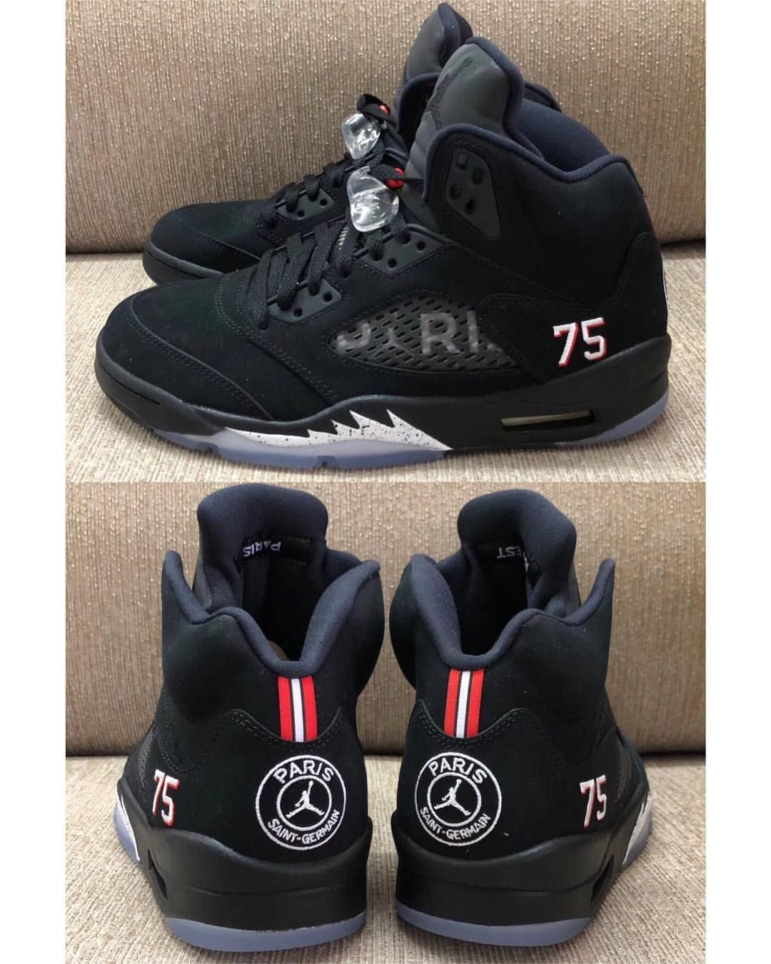 3d8b7dd97efa07 ANOTHER LOOK  2018 Air Jordan Retro 5  PSG Will have release info shortly