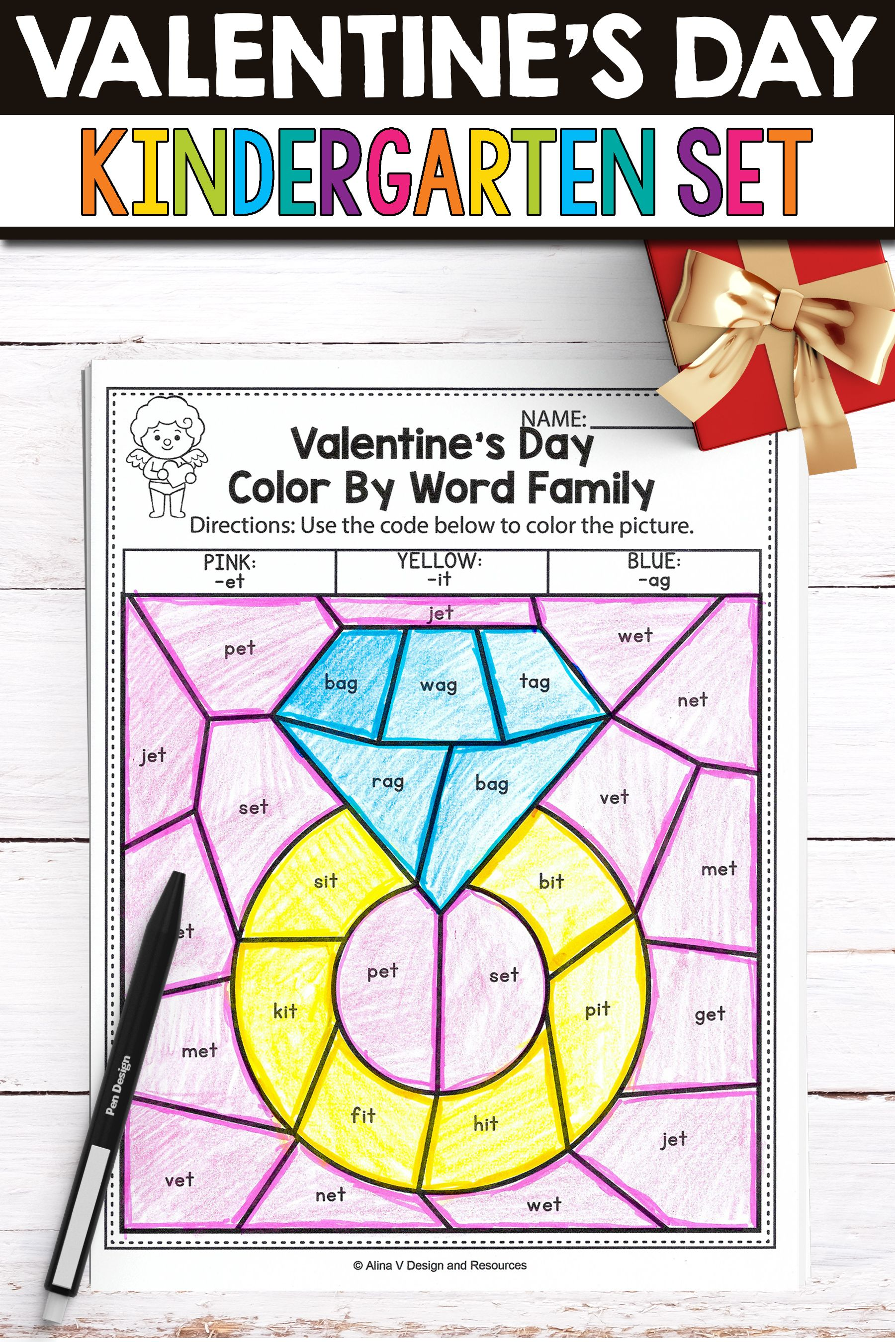 Fun Valentine Math And Literacy Activities And Worksheets