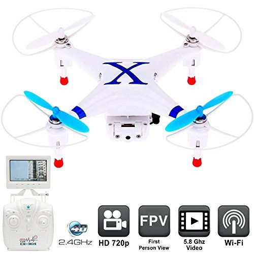 Drone With Camera CX30S First Person View Monitor RC Drones FPV Quadcopter Helicopter For Sale Flying