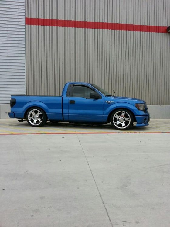 Blue F150 Limited Wheels Lowered Rcsb F150 S Ford Trucks