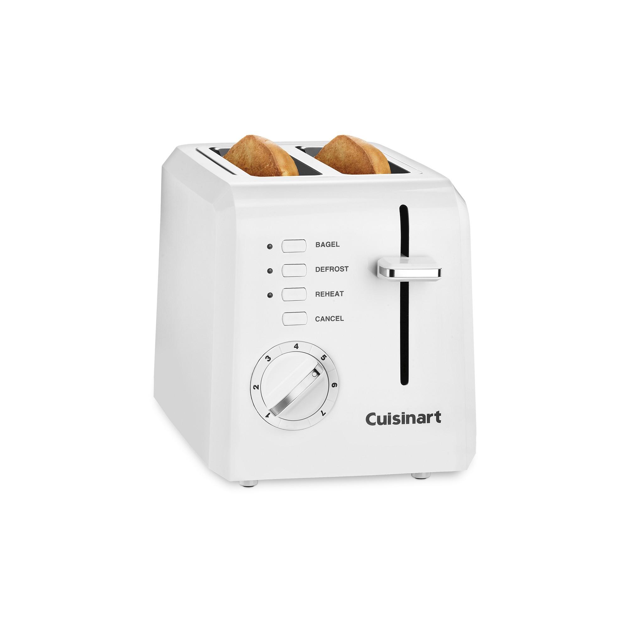 Cuisinart 2 Slice Toaster - White Cpt-122