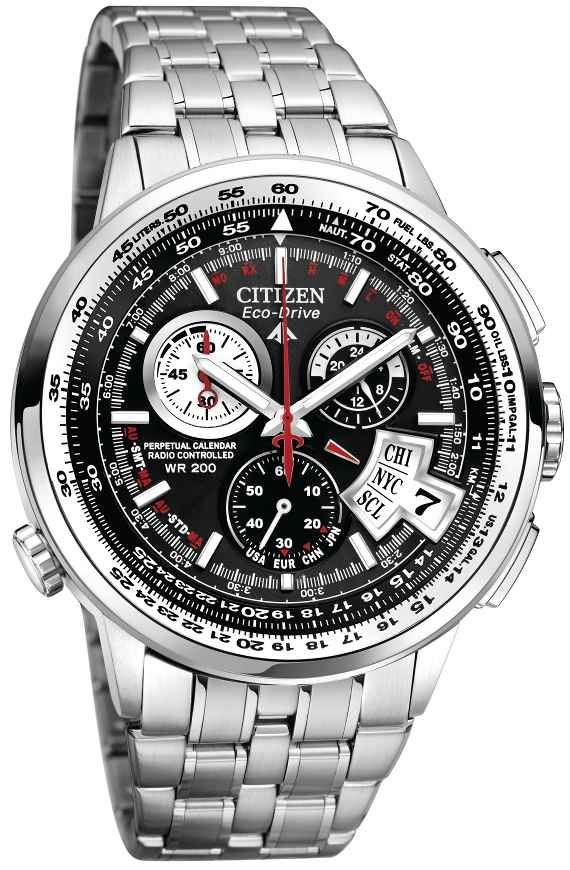 f4ca7f0829e Citizen Eco Drive Chrono Time AT Watches watch releases