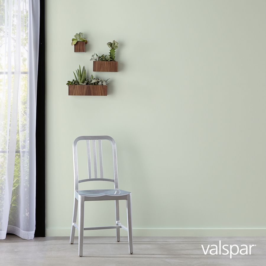 Valspar Sparkling Sage Interior Paint Sample Actual Net Contents 8 Fl Oz Lowes Com Sage Living Room Boy Room Paint Home Remodeling
