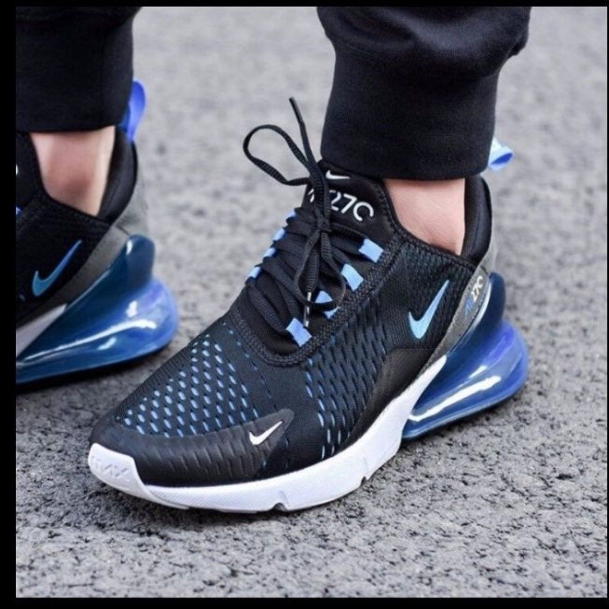 Nike Air Max 270 Liquid Metal Black