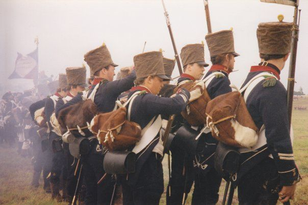 Waterloo THE 9TH LIGHT INFANTRY (FRENCH)READY FOR ACTION.