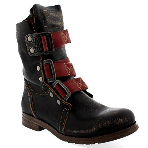 Womens Fly London Stif Leather Pull On Military Biker Buckle Ankle Boots, http://www.amazon.com/dp/B00ML0YFJ4/ref=cm_sw_r_pi_awdm_ulHjxb0PAV864