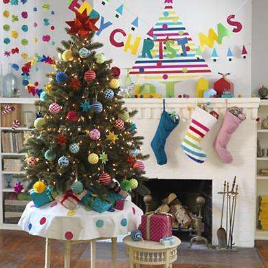 The Flashy Forest Holiday Decals are Fun Christmas Tree Decor #uniquedecals #stickerdecals trendhunter.com