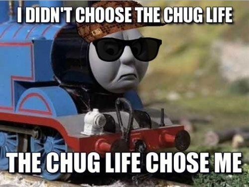 Thomas Chug Life With Images Pingu Memes Training Meme Funny