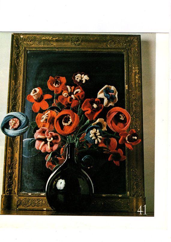 PDF Pattern/Bouquet de fleurs crochetées par FrenchCreativity