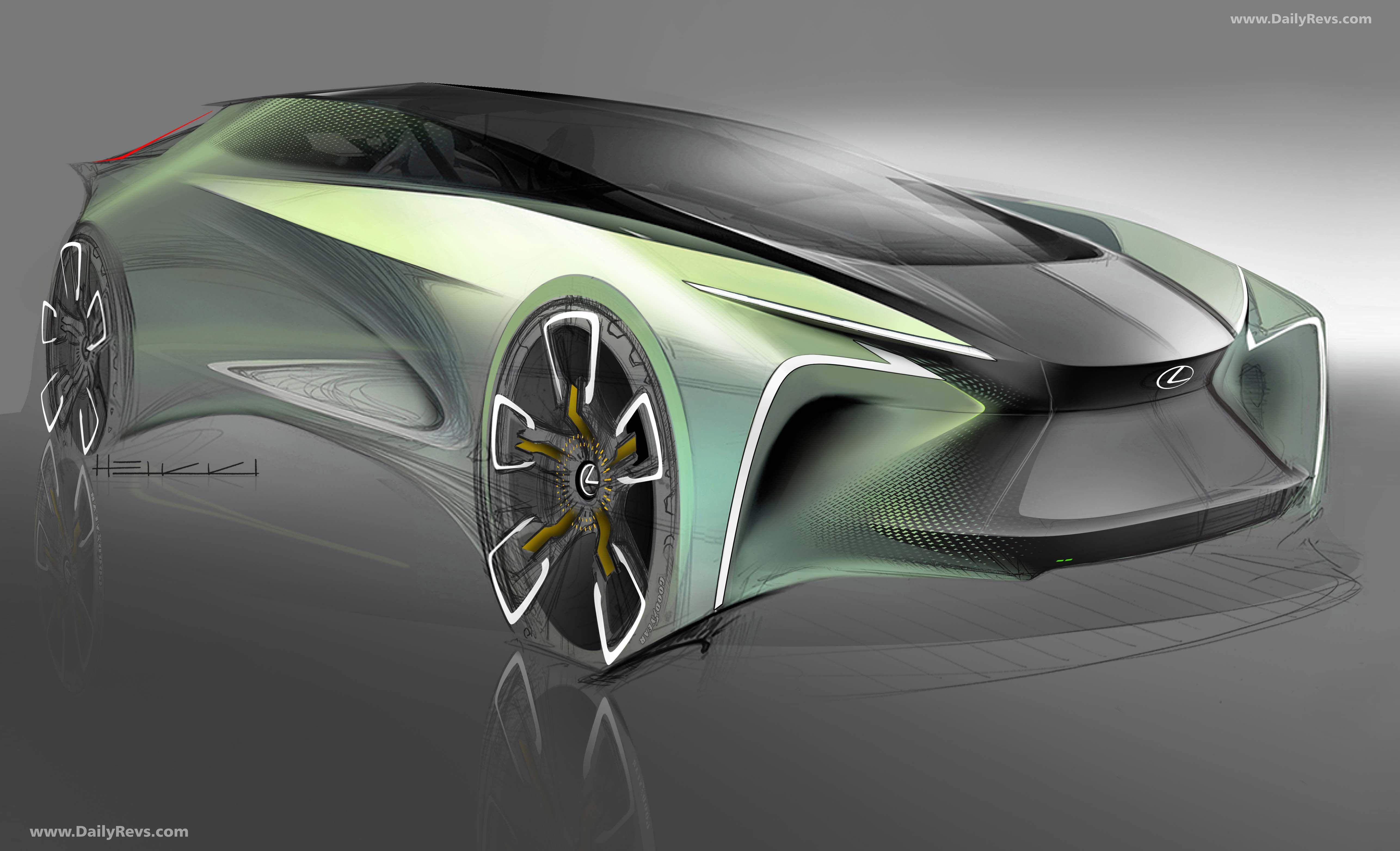2019 Lexus LF-30 Electrified Concept - HD Pictures, Videos, Specs & Information - Dailyrevs