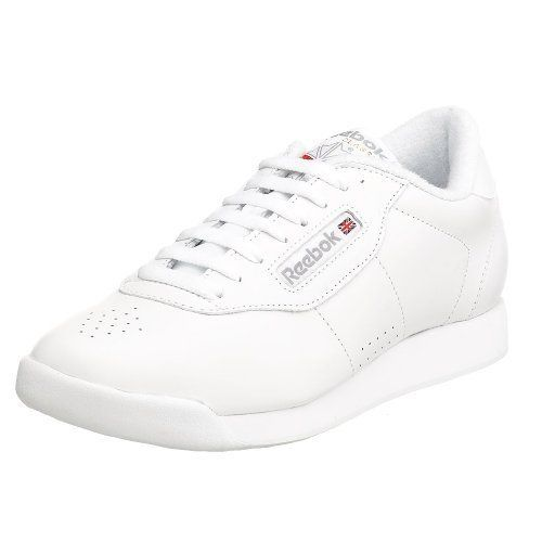 Reebok Women S Princess Aerobics Shoe White 8 M 33 99 Reebok Women Reebok Princess White Tennis Shoes