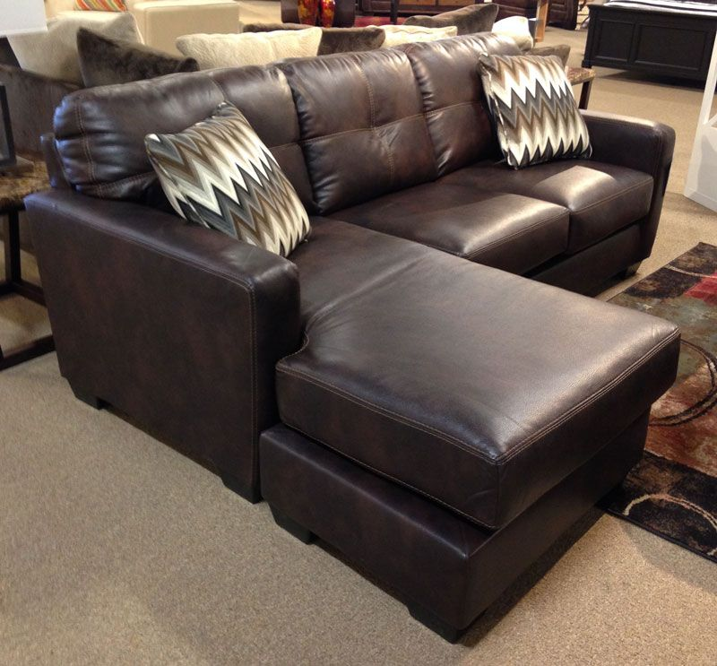 Cohes Java Sofa Chaise On Our Floor At #AshleyFurniture