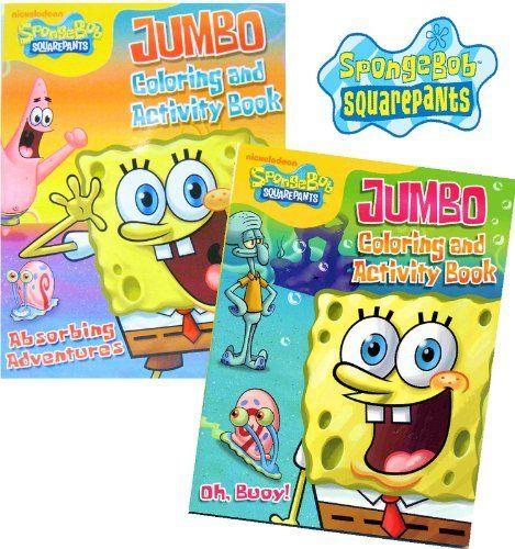 Spongebob Jumbo Coloring Book