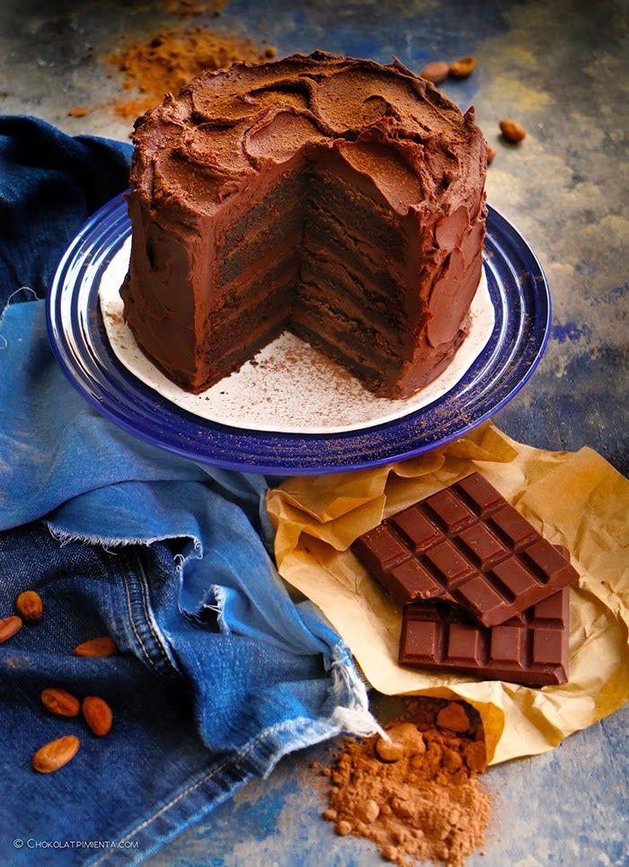 Muerte Por Chocolate Chocolovers Pastel De Chocolate Dulces De Chocolate Recetas Dulces