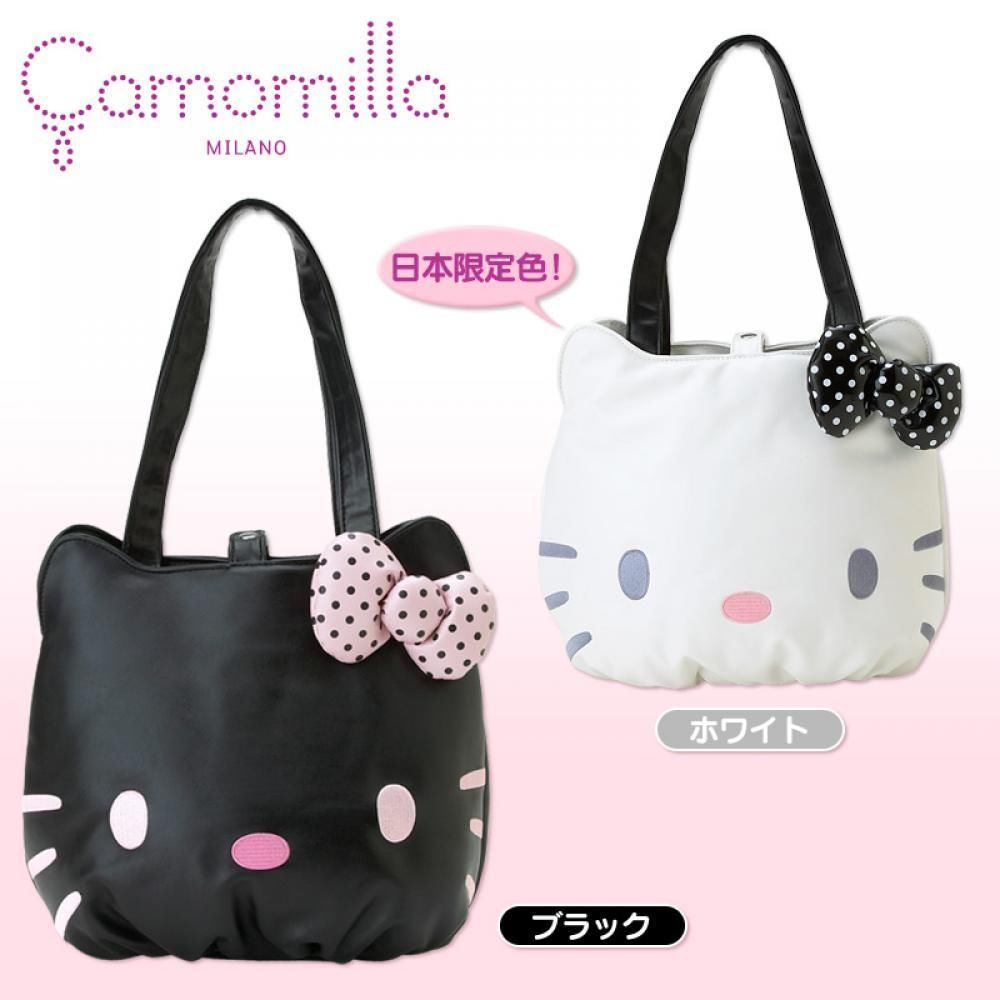 Hello Kitt Reversible Tote Bag Sanrio Japan