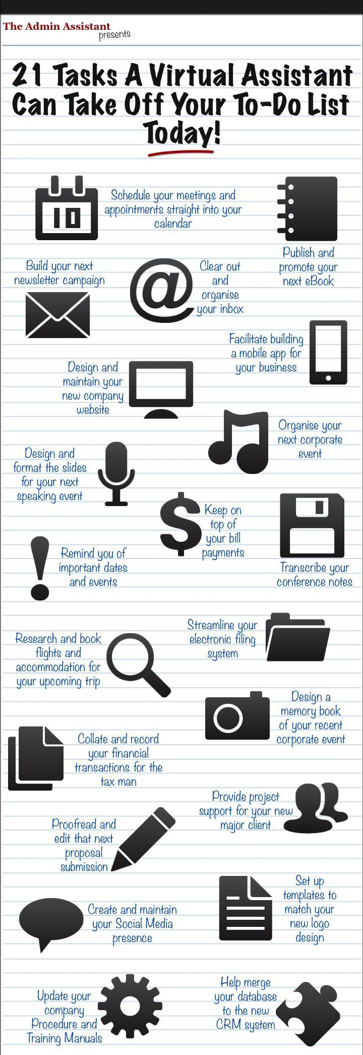 Your To Do List With A Virtual Assistant  Virtual Assistants
