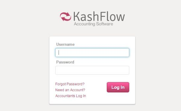 KashFlow Login To Access Accounting Software with Payroll