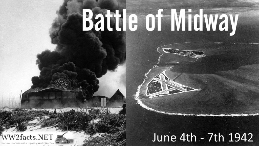 One of the most important naval battles in the Pacific Theater of World War the Battle of Midway took place between June and June 1942 between t