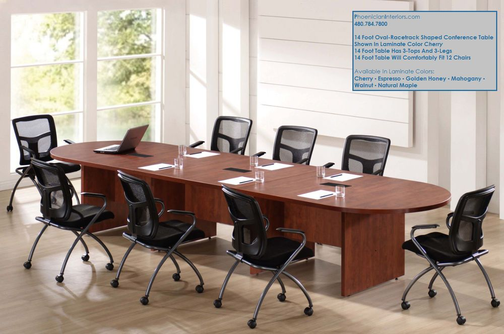 Thisconference Table Is Expandable And Can Be Made Longer By Adding Features 2 Electric Outlets 3 Usb 1 Hdm Conference Table Table Custom Conference Table