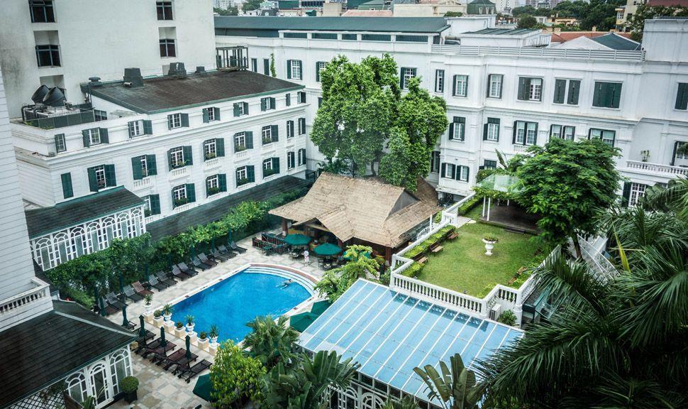 Hanoi's Metropole Hotel...