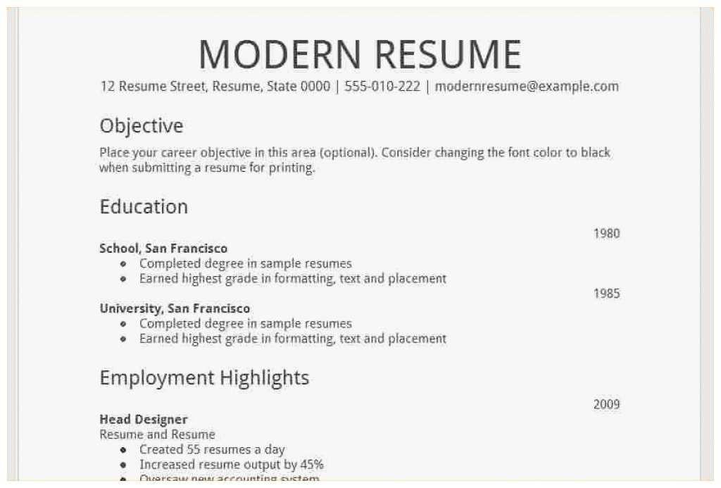 61 admirable photos of high school resume template google