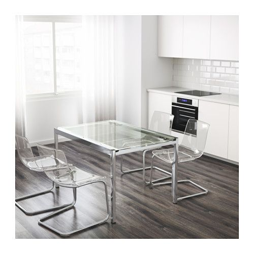 Us Furniture And Home Furnishings Ausziehtisch Esstisch Glas