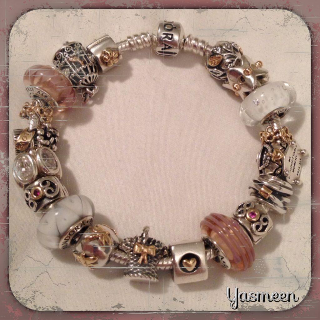 Pandora bracelet pretty in pink pandora in pinterest