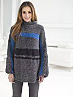 Image of Boxy Striped Pullover