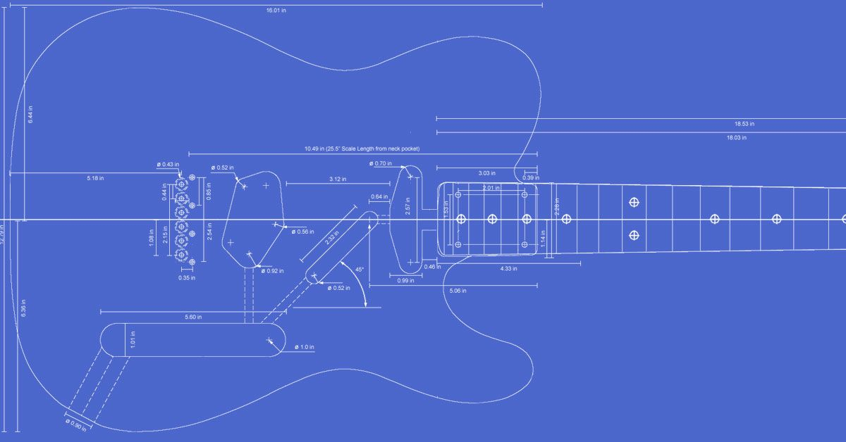 Printable templates for the telecaster custom deluxe thinline printable templates for the telecaster custom deluxe thinline routing guides for maxwellsz