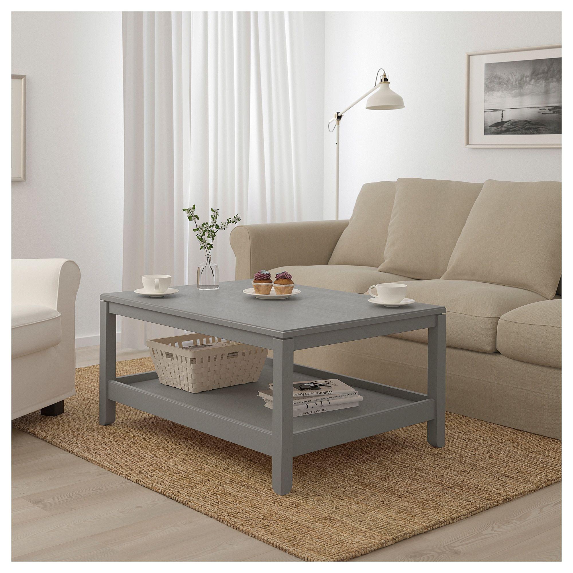 IKEA HAVSTA Coffee table gray Ikea coffee table