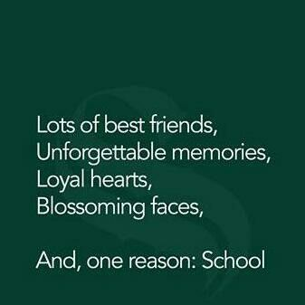 golden days of our lives my school life has the best memories