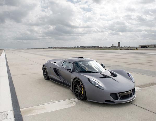 El Hennessey Venom GT de 1.244 CV alcanza los 427 km/h (© Hennessey)
