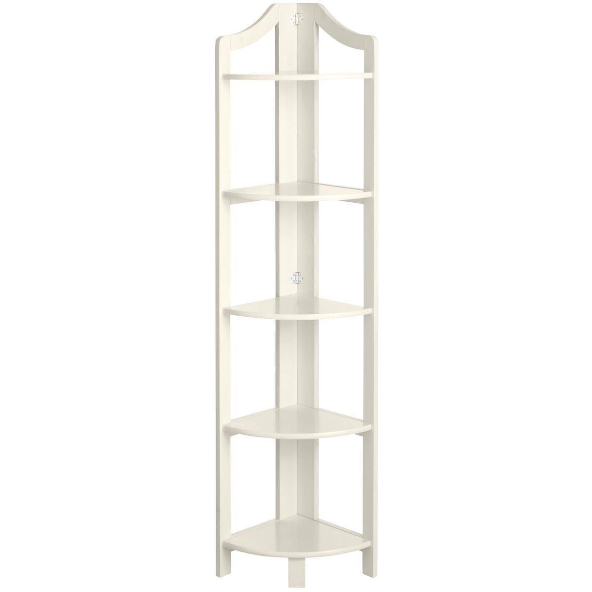 Clifton antique white tall corner shelf pier 1 imports