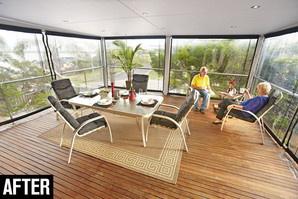 How To Install Bistro Blinds Outdoor furniture sets