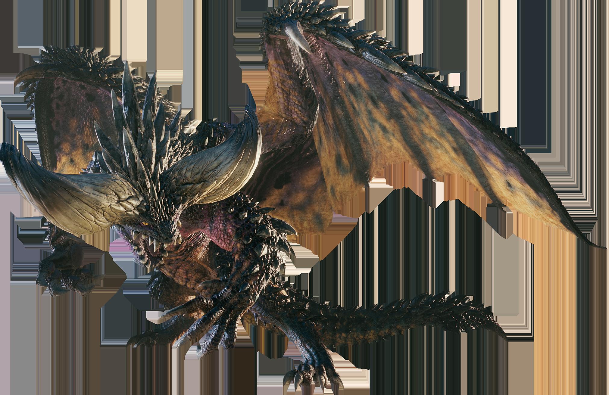 Mhw Nergigante Render 001 Png Monster Hunter Monster Hunter World Fantasy Monster