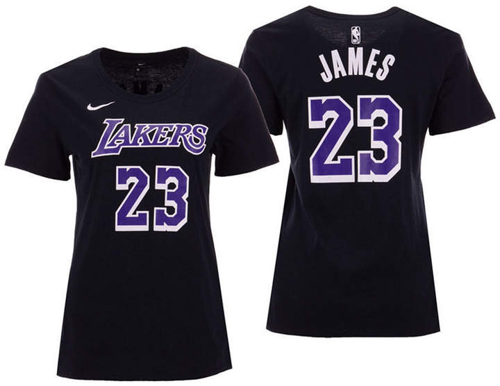 best website 4f3f4 a156d 5th & Ocean Women LeBron James Los Angeles Lakers Player ...