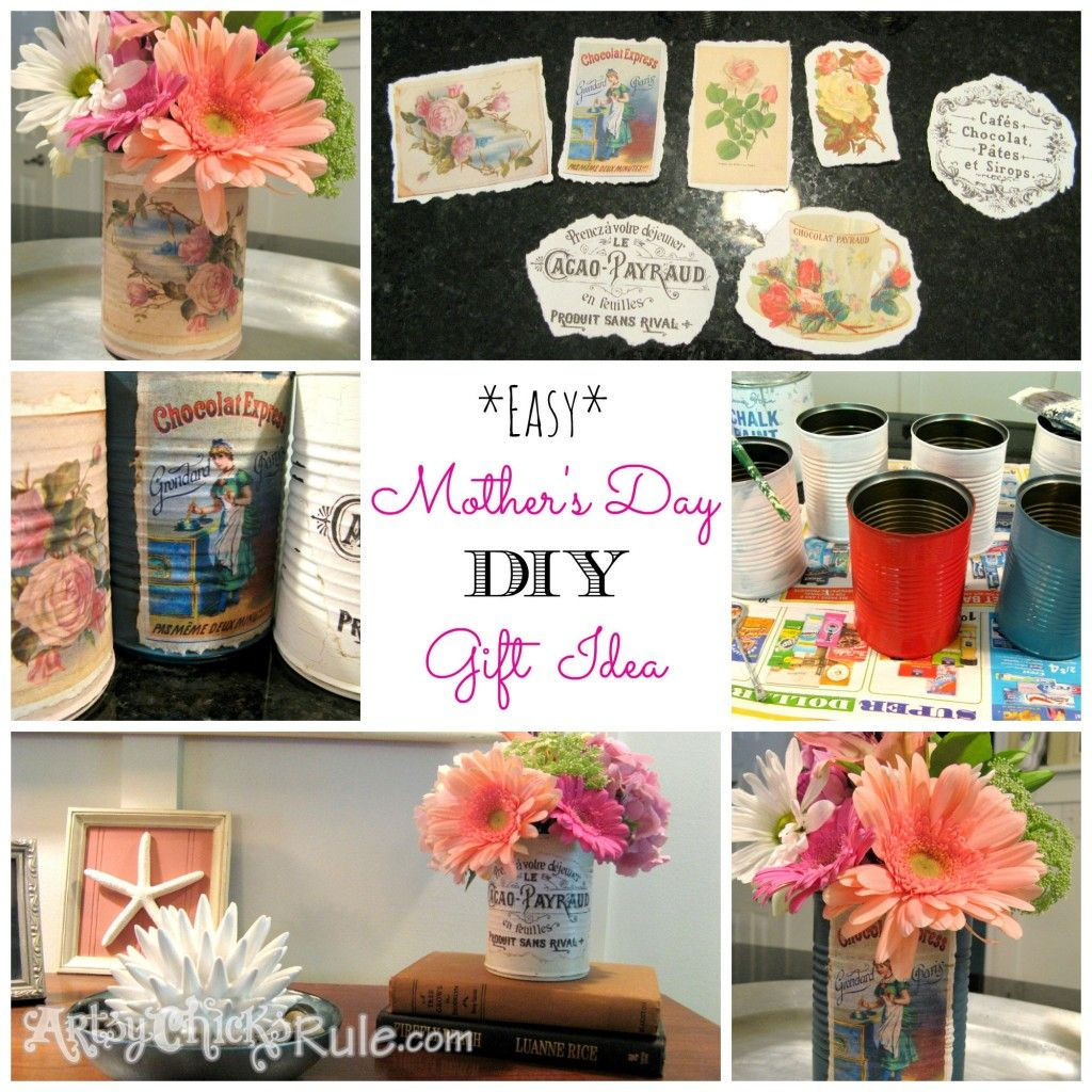 Simple Tin Can Crafts (perfect For Gift Giving!)