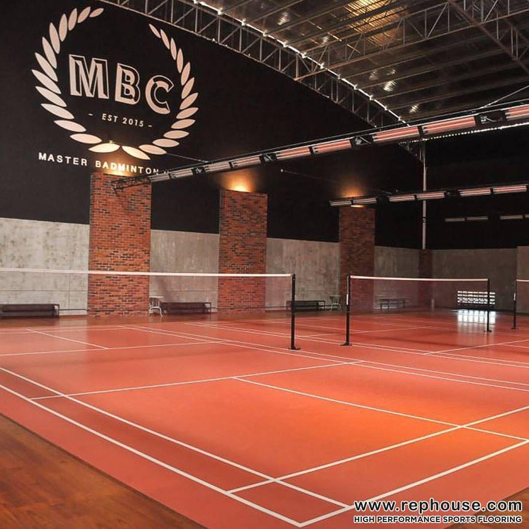 Decoflex Universal Sports Flooring At Master Badminton Club By Dato Lee Chong Wei World Badminton No 1 Indoor Sports Badminton Club Badminton