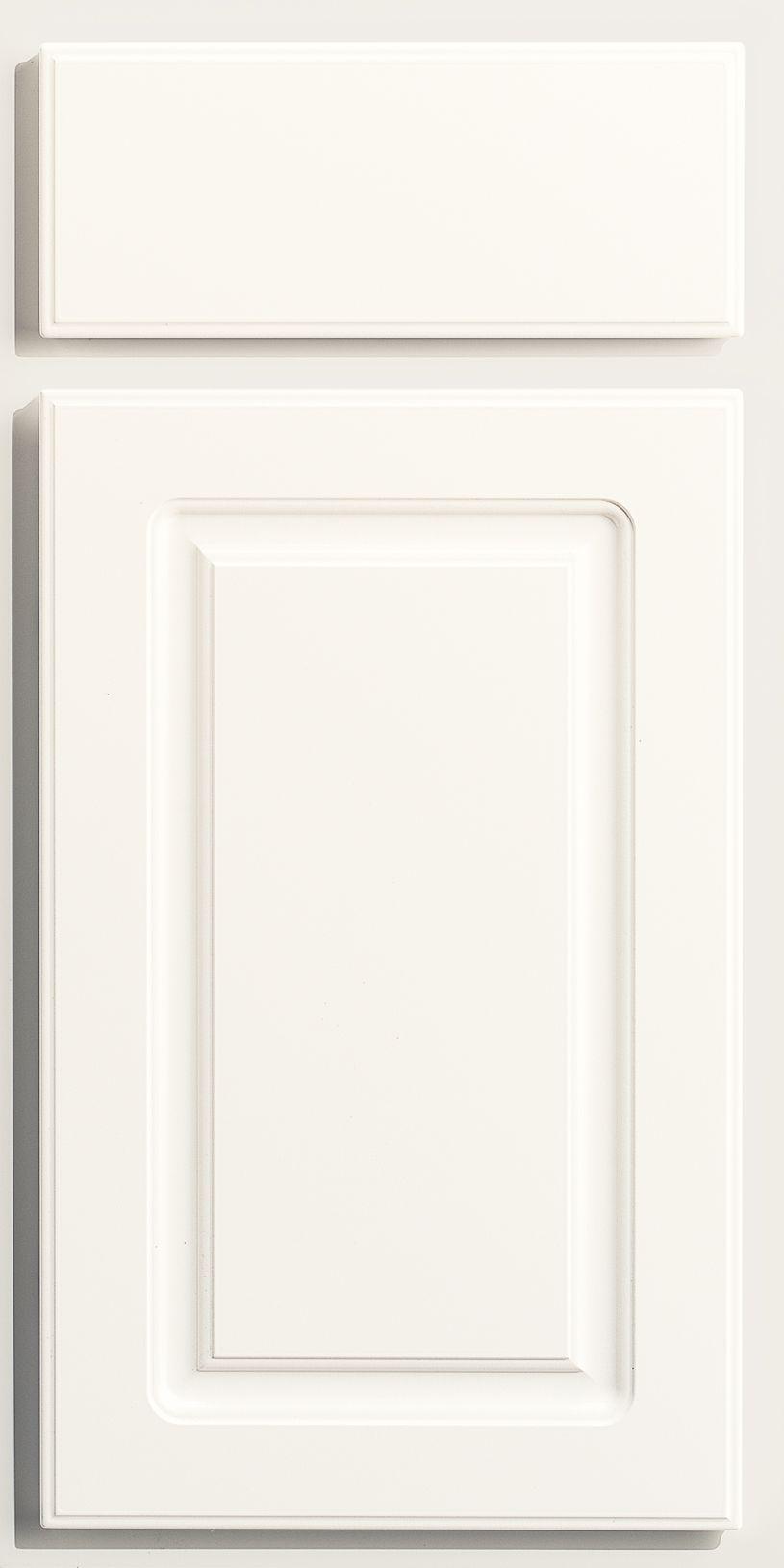 Best Merillat Classic Arbor Falls Door Style In White 640 x 480