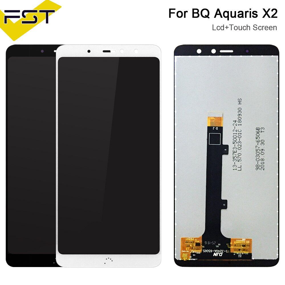 "5.65""For BQ Aquaris X2 LCD Screen With Touch Screen Display For BQ X2 Digitzer Assembly +Tools For BQ X2 LCD Pantalla Tactil #touchscreendisplay"