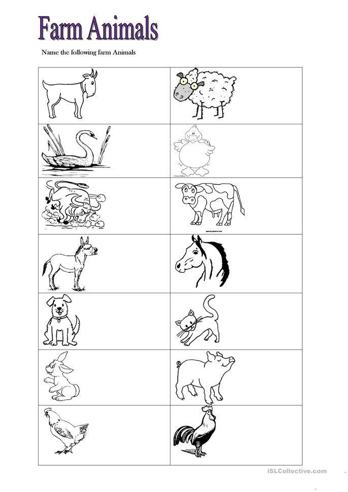 Farm Animals Kindergarten Farm Math Math Worksheets Farm Math Preschool farm theme worksheets