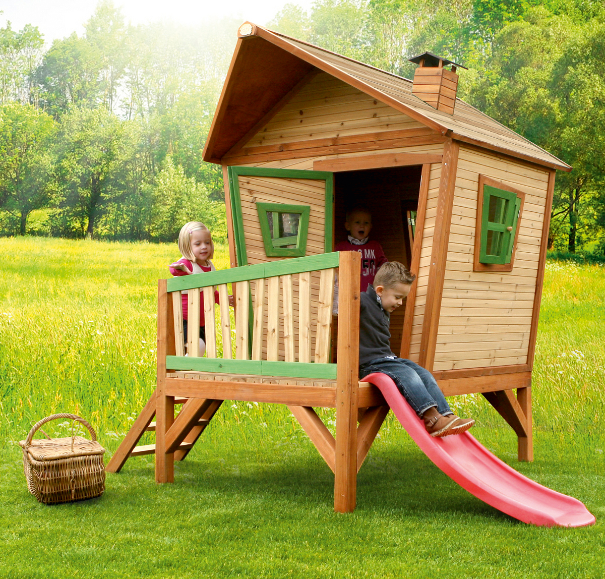 the axi iris kids playhouse is a very charming fairy land kids