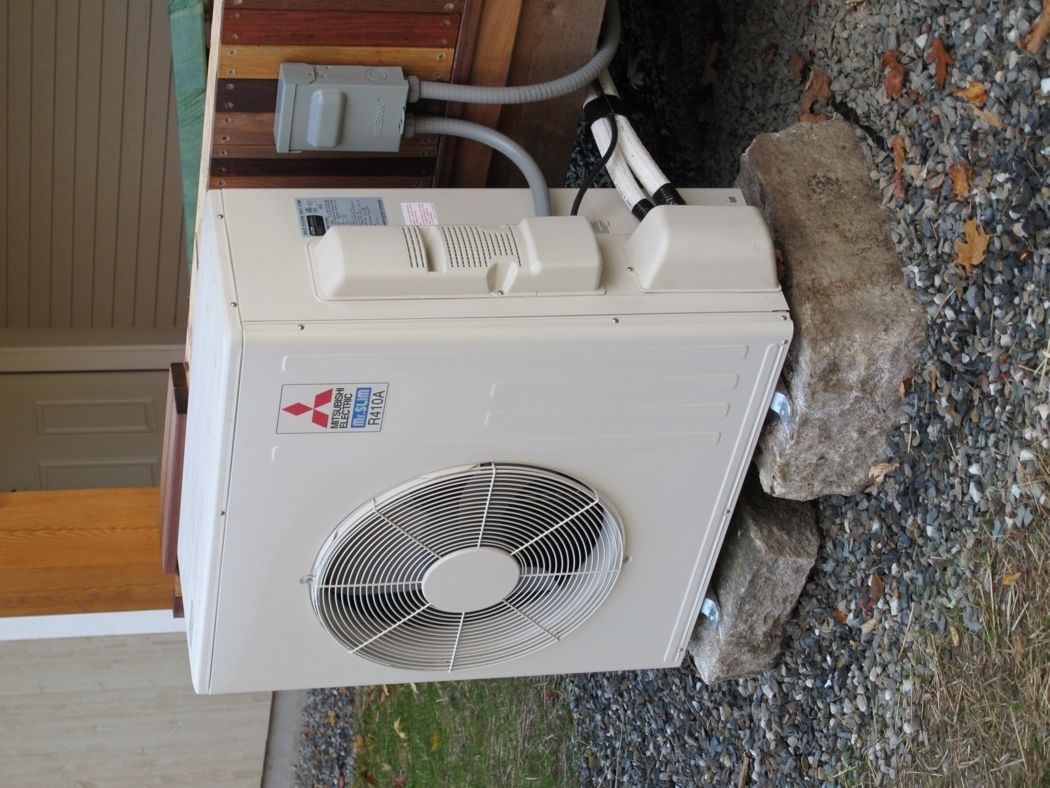 Electric Heat Comes Of Age Installing Our Mini Split Heat Pump