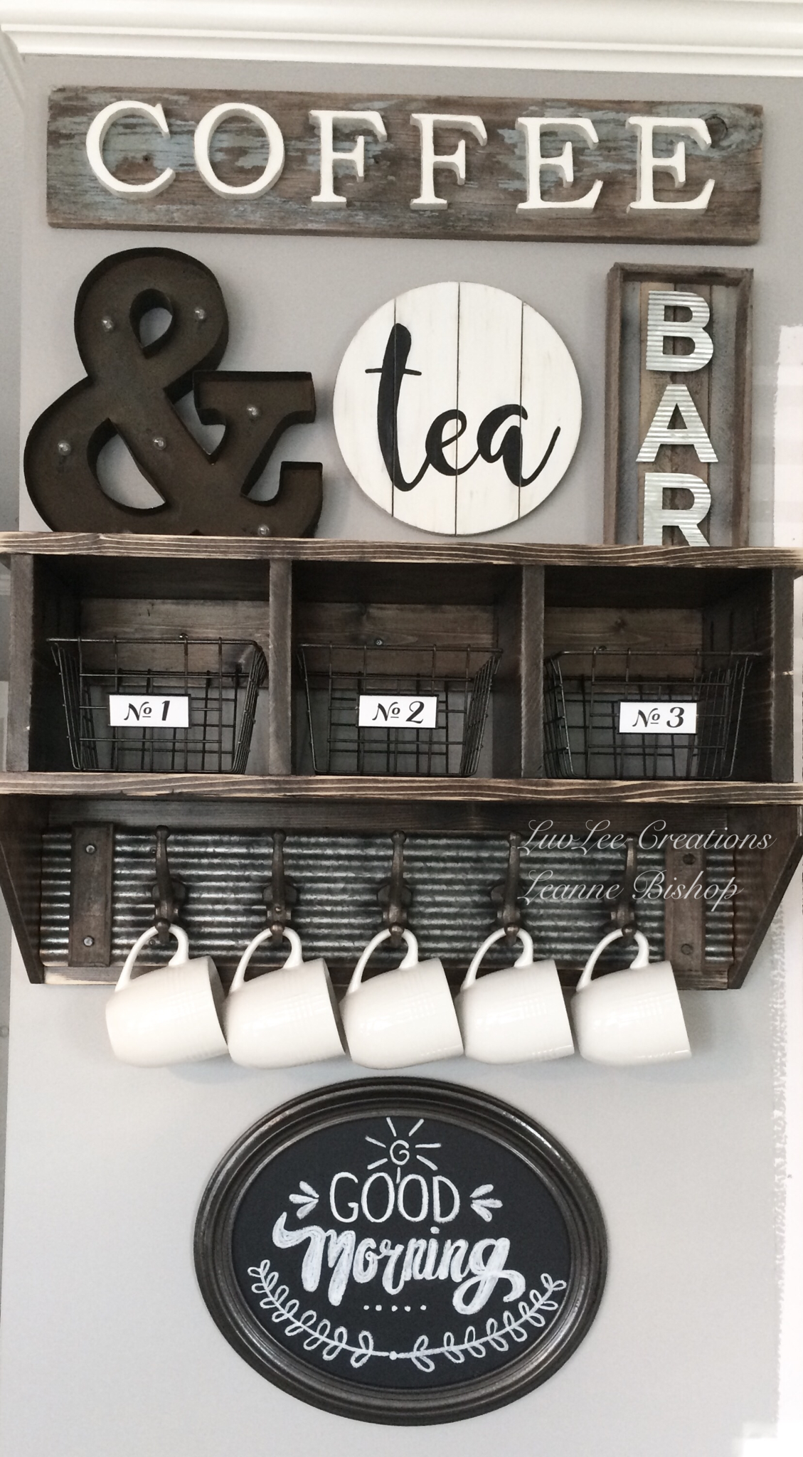 Kitchen Coffee Station Just Added This Diy Chalkboard Sign To My Coffee Bar Be Sure To