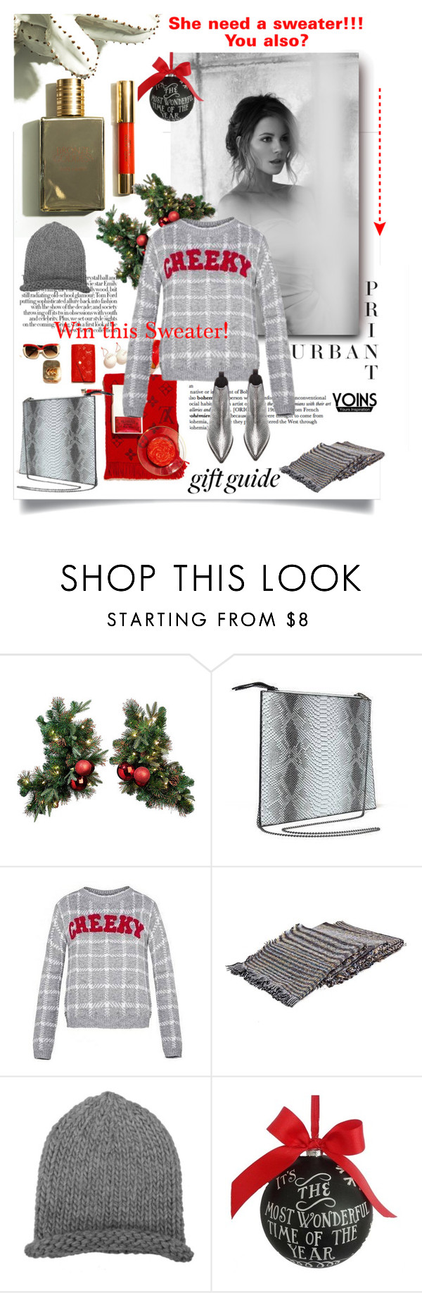 """She need a sweater! You also?"" by lacas ❤ liked on Polyvore featuring Sage & Co., Acne Studios and Joins"